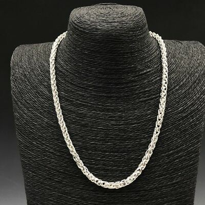 Collect China Make exquisite Tibet silver Necklace.  q935