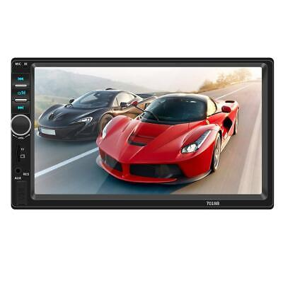 """7"""" 2 Din Touch Screen Bluetooth Handsfree Car Stereo Radio FM USB AUX MP5 Player"""
