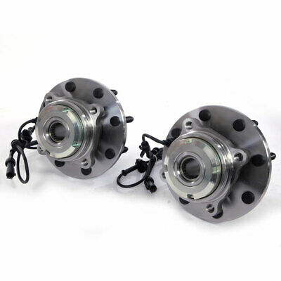 (2) New Front Wheel Hub & Bearing SRW Coarse Thread w/ABS FOR FROM 3/22/99 - 4x4
