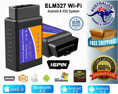ELM327 OBDII OBD2 Bluetooth Bus Car Scanner Scan Tool Torque Android IOS iPhone