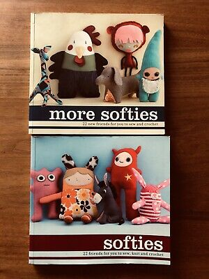 Books, More Softies & Softies, Make Your Own Plush Toys. Includes Step By Step