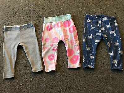 Girls Country Road Bonds And Target Leggings Size 6-12 Months 0