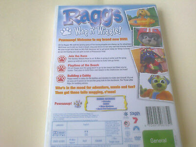 Raggs   Wag N Wiggle   Dvd  (Sealed)