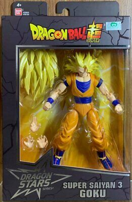"Bandai Dragon Ball Super Dragon Stars Series 6"" Super Saiyan3 Goku Action Figure"