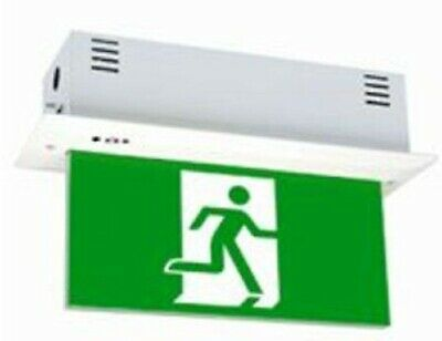 Legrand EDGELIGHT EMERGENCY LED EXIT SIGN DIFFUSER 4x1W Single Sided, Exit Left