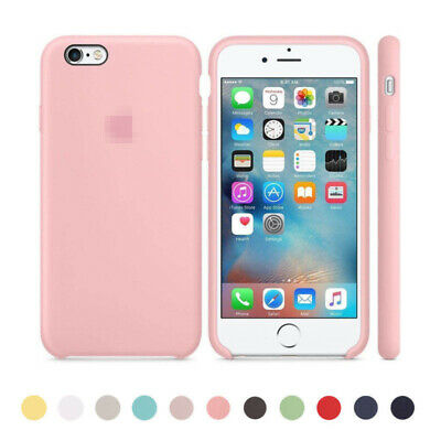 Authentique Officiel Silicone Souple Case Cover Pour i phone 8 7 6 6s Plus Boxed