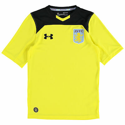 Aston Villa Home Goalkeeper Shirt 2017 18 Kids Under Armour HARRISON CR082 ii 18