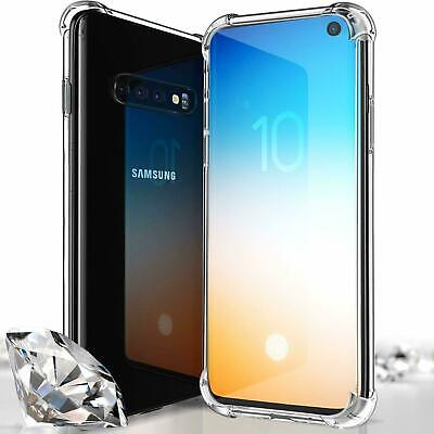 For Samsung Galaxy S10 Plus Case Shockproof Silicone Protective Clear Gel Cover