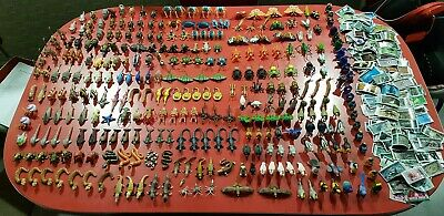 Yowies Jumbo Group Lot of 300 figs with 280 papers