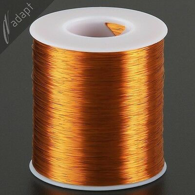 31 AWG Gauge Magnet Wire Natural 4000' 200C Enameled Copper Coil Winding