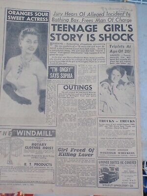 Melbourne Truth 1955  , Racing, Football, Gossip 28 pages