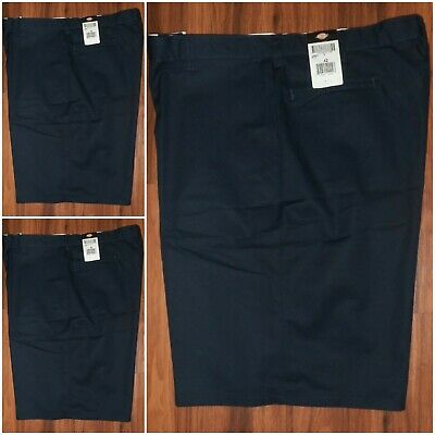 Mens Dickies Industrial Relaxed Fit Pocket Shorts size 42 x 11 Navy NWT