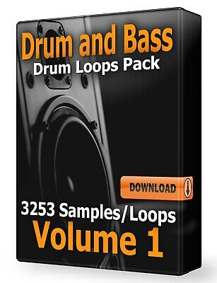 Drum and Bass Drum Loops WAV Samples Pro Tools FL Studio Ableton Logic Pro DNB