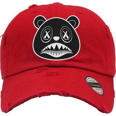 7a66ee5ddec66 OREO BAWS RED Distressed Dad Hats - Match Sneakers -  29.99