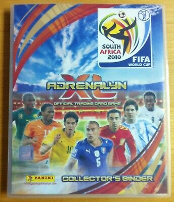 Adrenalyn World Cup 2010 International Edition Complete Collection ( 350 Cards )