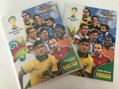 Adrenalyn World Cup 2014 Complete Collection ( 416 Cards )