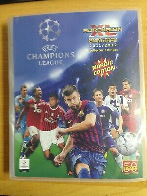 Complete Collection Adrenalyn Champions League 2011/12 ( 355 Cards )