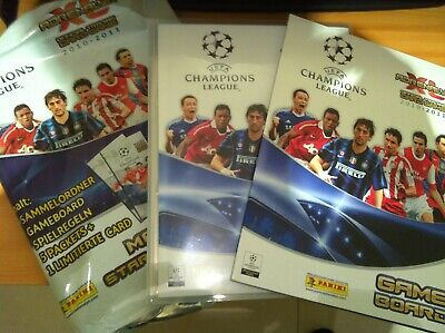 ADRENALYN CHAMPIONS LEAGUE 10/11 COMPLETE COLLECTION  (350 cards )