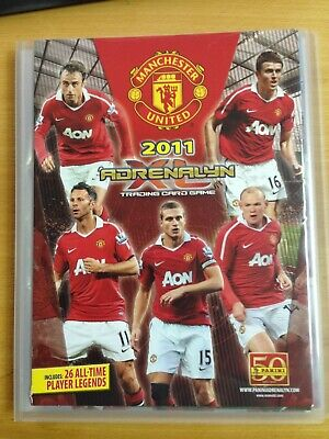 Complete Collection Adrenalyn Manchester 2011 ( 131 Cards )  5 Limited Edition