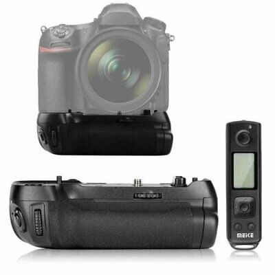 New Meike MK-D850 Pro Battery Grip w/ 2.4G Wireless Remote Control fr Nikon D850