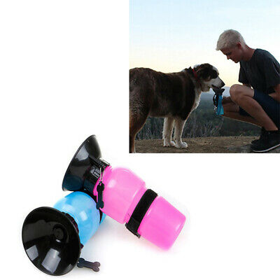 500ml Dog Cat Pet Water Bottle Drinking Mug Cup Puppy Fr Travel Outdoor Portable