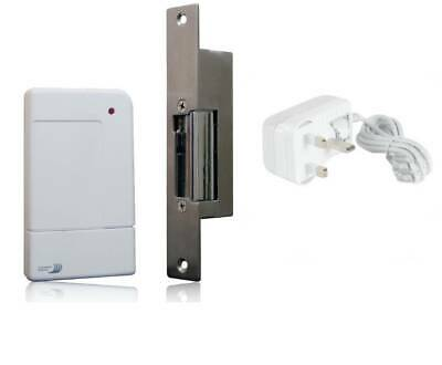 Byron Home Easy HE106 Remote Control Door Release Kit with 12V Adapter (A162)