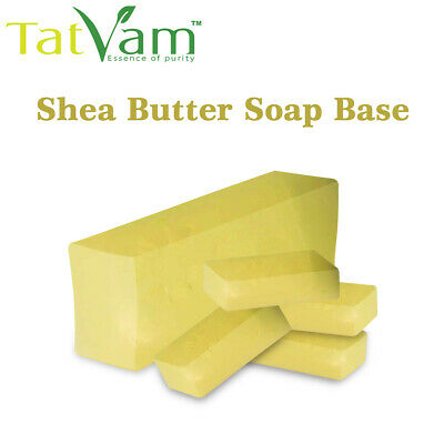 Shea Butter Melt And Pour Soap Base  Soap Making Supplies Raw Material 250 Grms