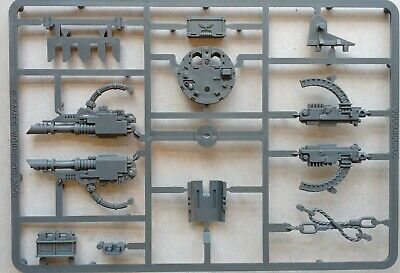 Space Marine Razorback Turret Sprue Frame (with lascannons & heavy bolters)