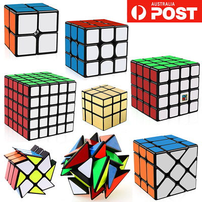 Magic Cube 3x3 2x2 4x4 5x5 6x6 Super Smooth Fast Speed Rubik Puzzle Rubics Rubix