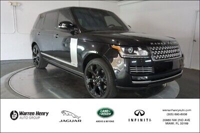 2017 Range Rover 5.0L V8 Supercharged Autobiography 2017 Land RoverRange Rover5.0L V8 Supercharged Autobiography