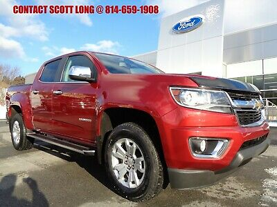 2015 Chevrolet Colorado 2015 Colorado Crew LT Package 3.6L 4WD Red 2015 Chevy Colorado Crew Cab LT 4x4 3.6L Luxury Package Heated Leather Red Rock