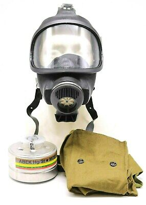 From Germany MSA Auer 3S gas mask with filter funy gift black rubber
