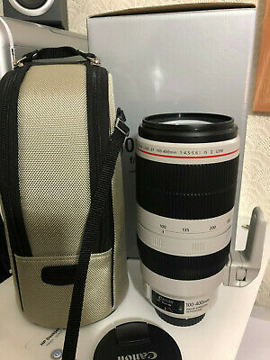 CANON EF 100-400mm f/4.5-5.6 L IS II USM LENS - 1:4.5-5.6L 100-400 mm