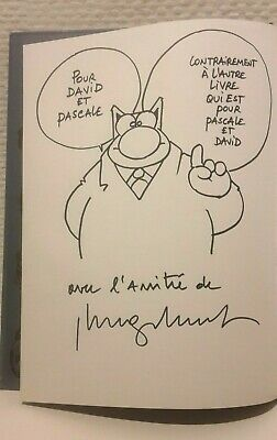 "Le Chat ""GOD SAVE THE KAT""Dédicace Geluck.version anglaise !!! RARE !!!"