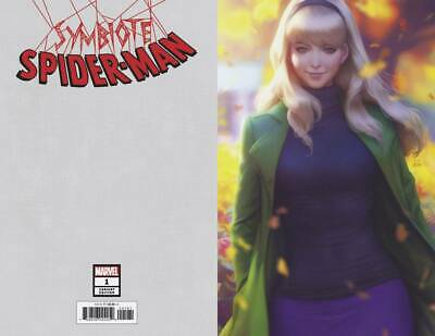 Symbiote Spider-Man #1 Artgerm Virgin 1:200 Variant Cover Marvel Comics Nm Hot!