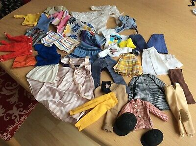 Pedigree Sindy Doll Clothes  LARGE LOT SOME TLC BUT MOSTLY GOOD SEE ALL PHOTOS