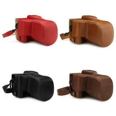 MegaGear Canon EOS Rebel T7, 2000D (18-55mm) Ever Ready Leather Camera Case