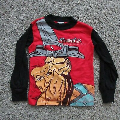 Thundercats Vintage Long Sleeve Kids Shirt Size 4 Extremely Rare 1985 1980'S