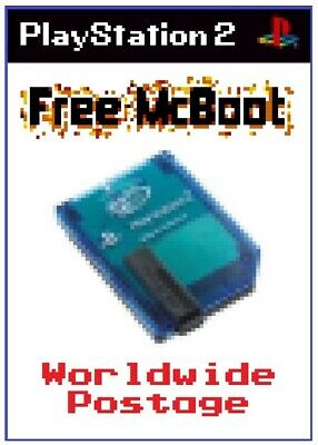 Free McBoot (FMCB) Version 1.966 / Official MadCatz PlayStation 2 Memory Card