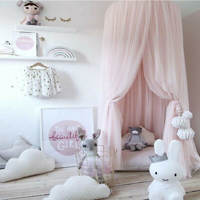 KID BEDROOM CANOPY Bedcover Mosquito Net Curtains Bedding ...