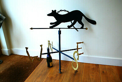 Vintage Fox And Chain Weather Vane...