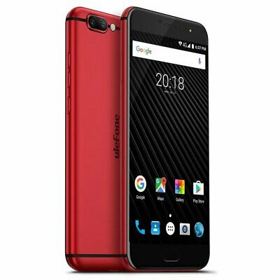 Smartphone Ulefone T1, Android 7.0 , 4G, 2Sim, 5.5 Pouces, rouge 6+ 64GB 3680 vA