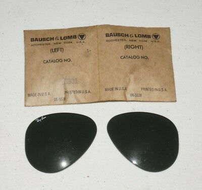f0be43798d3 Nos Vintage B l Ray Ban Bausch   Lomb L6301 Replacement Lenses ...