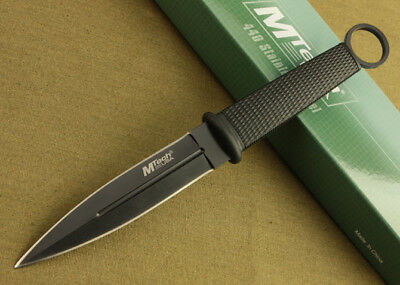 New MTech ABS Handle Boot Dagger Survival Fixed Bowie Hunting Knife MT