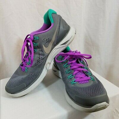 501ec70da7b49 NIKE LUNARGLIDE 4 Running Shoes Sneakers 524978-015 Womens Size 9 ...