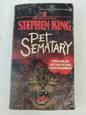 Pet Sematary by Stephen King (1983, Hardcover, First Edition)