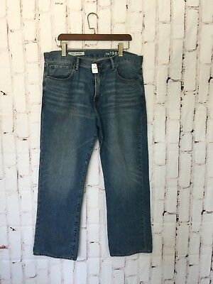 Gap Mens Jeans Size 36x34 Denim Replaxed Cotton New With Tags