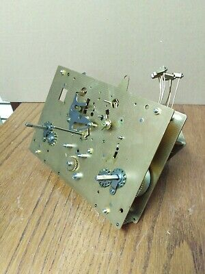 Hermle 1161-853 HS Grandfather Clock Movement Triple Chime 114 cm cable driven
