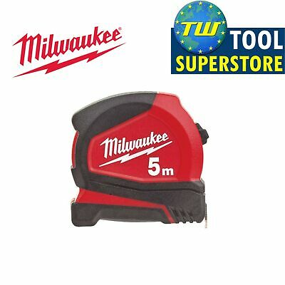 Milwaukee 5m Pro Compact Metric Only Tape Measure – Width 25mm - 4932459593