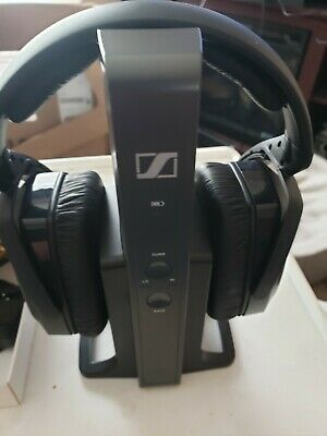 Sennheiser RS 175 Headband Wireless Headphones - Black